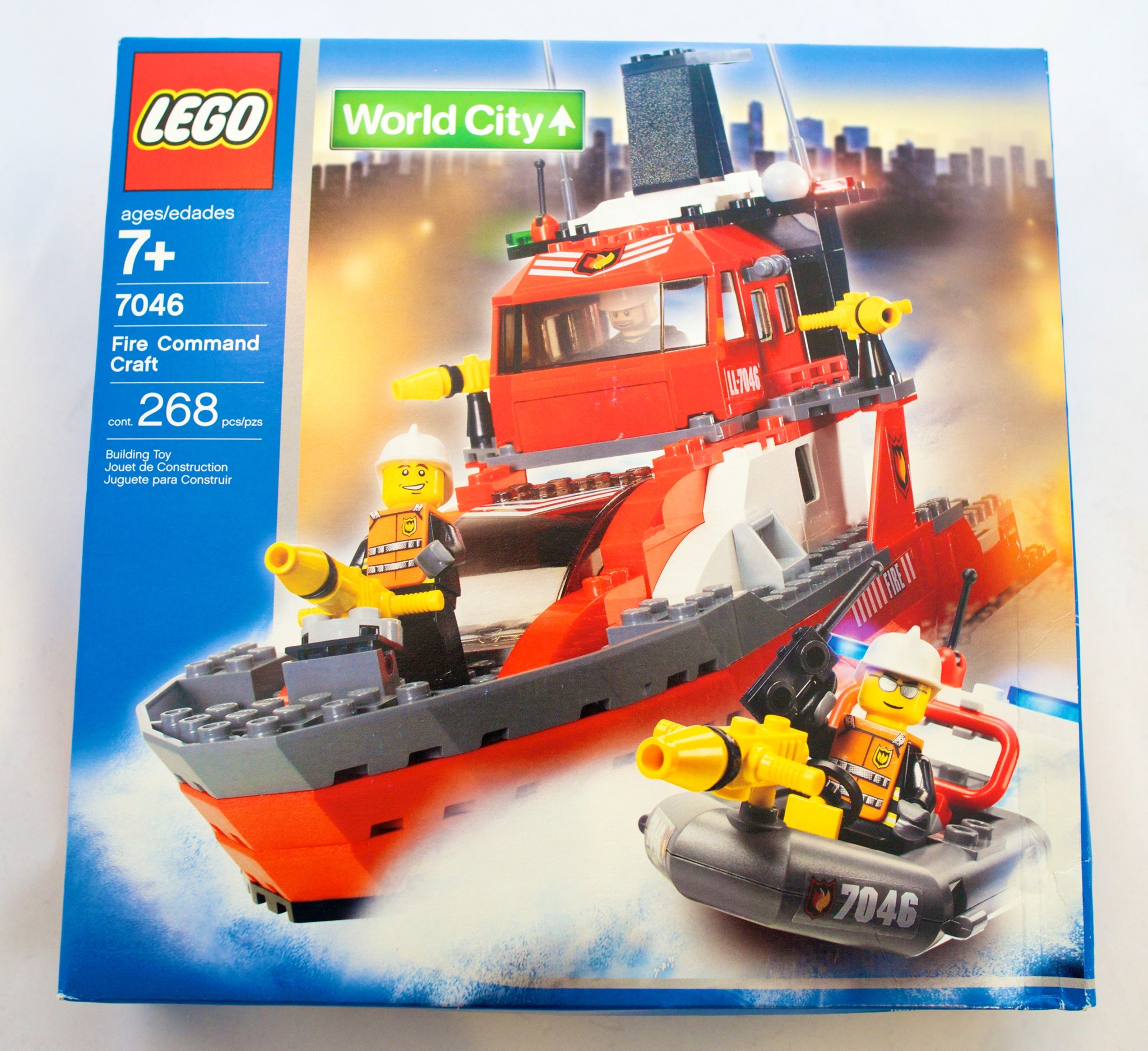 Lego world city fire command craft 7046 new sealed ebay for Lego world craft